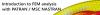Introduction to FEM analysis with PATRAN / MSC NASTRAN